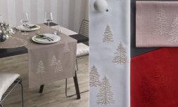 Декоративная дорожка с вышивкой WOODLAND