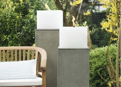 Сandle outdoor CUBE