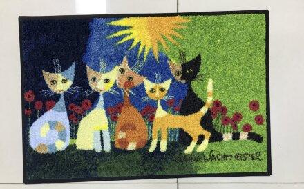 Коврик Gatti con Fiori (кошки)
