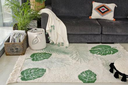 Ковер тропики (зеленый)