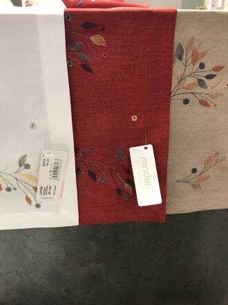 Декоративная дорожка с вышивкой GlASGOW