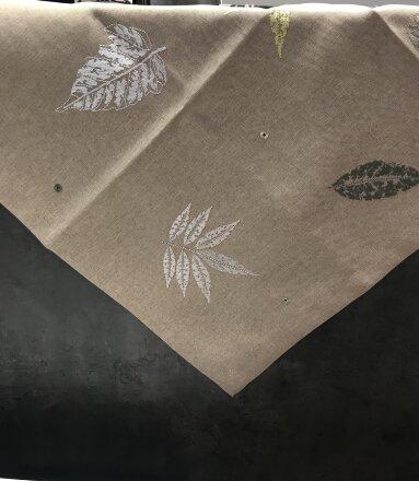 Декоративная дорожка с вышивкой LOGAN