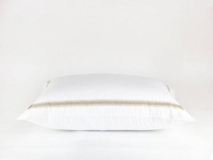 TYROL NOBLE CANVAS GRASS  - постельное белье с широким кружевом
