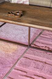 Ковер Воздушный каньон розовый