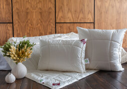 Подушка «ORGANIC СOTTON GRASS»  хлопок и лен