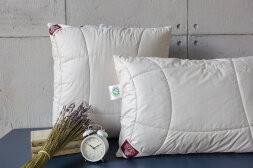 Подушка «ORGANIC HEMP GRASS»  конопля и лен