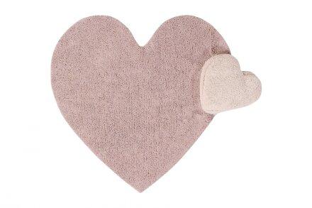 Ковер Сердце с подушкой