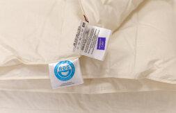Одеяло ORGANIC DOWN GRASS - белый гусиный пух