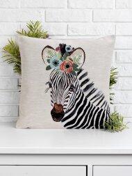 Подушка зебра Zoe