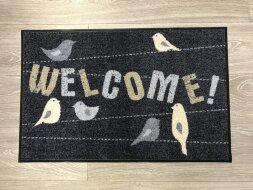 Коврик Welcome птички
