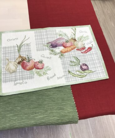 Салфетка под приборы Vegetables
