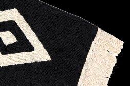 Ковер Черно-белый брилиант