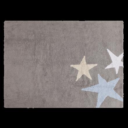 Ковер Три звезды Three Stars голубые