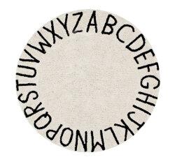 Ковер круглый Алфавит Round ABC