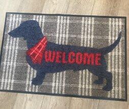 Коврик Welcome Dog