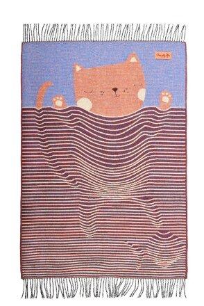 Плед детский CAT
