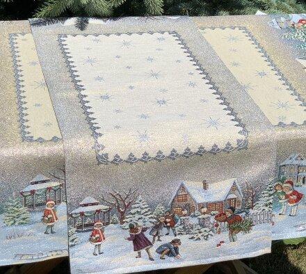 Салфетка под приборы Новогодние каникулы